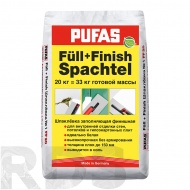 "Шпатлевка ""PUFAS Full+Finish Spachtel №1"", 20 кг - фото"