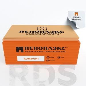Утеплитель Пеноплэкс Комфорт (1185х585х50) - купить по цене от 1001 р.