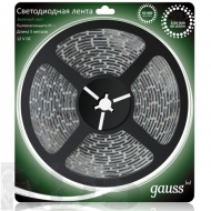 Лента Gauss Led SMD 14.4W 12V DC зеленый (5м) - фото