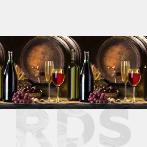 """Стеновая панель """"Вино"""" 3000х600 мм - купить по цене от 935 р."""