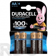 "Батарейки ""Duracell"" Ultra Power АА, (4шт/уп) - фото"