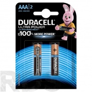 "Батарейки ""Duracell"" Ultra Power LR03 ААА, (2шт/уп) - фото"