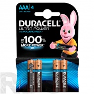 "Батарейки ""Duracell"" Ultra Power LR03 ААА, (4шт/уп) - фото"