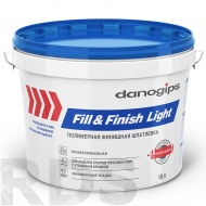 "Шпатлевка готовая DANOGIPS ""Fill&FinishLight"", 12.3кг /10л - фото"
