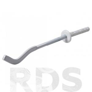 Кронштейн для радиатора штырьевой белый плоский 8х180 - купить по цене от 9.2 р.