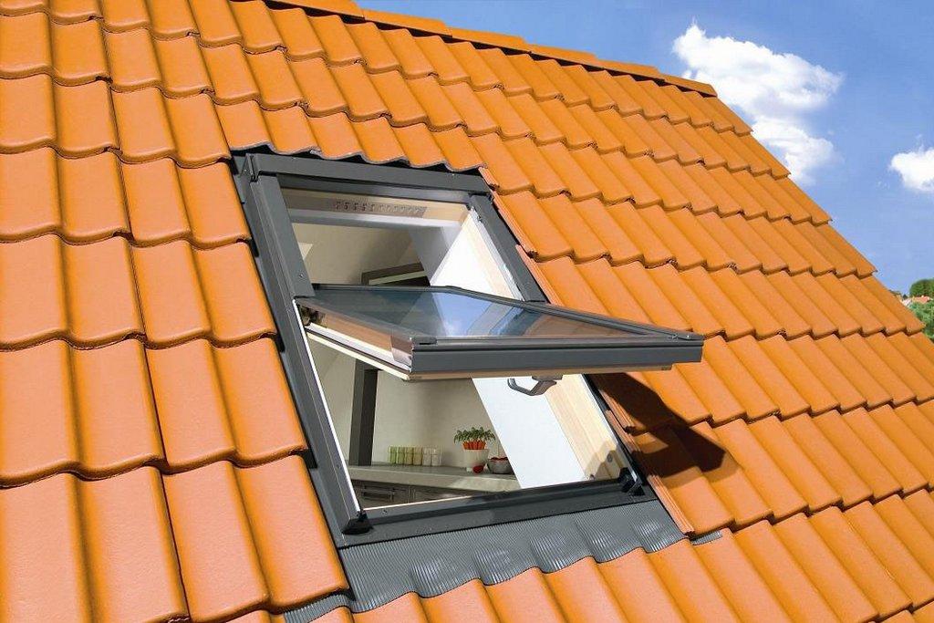 окна на крыше мансарды фото можно